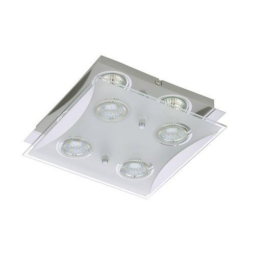 Oprawa sufitowa Flash 2 LED 4x3W GU10 250lm 3000K