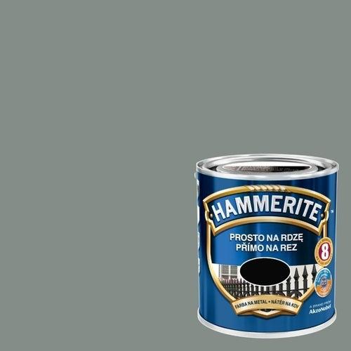 Farba antykorozyja Hammerite szary połysk 2,5l