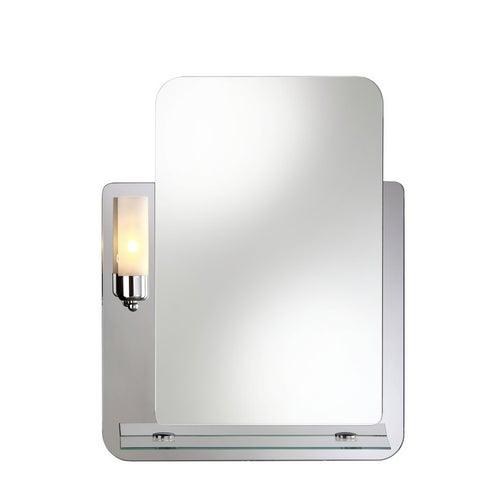 Lustro z oświetleniem Dubiel Vitrum Lucas 69x53 cm
