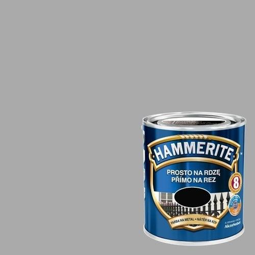 Farba antykorozyja Hammerite srebrny połysk 2,5l