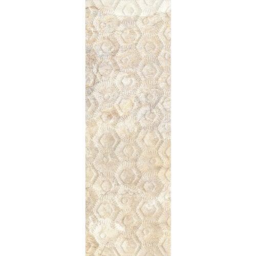 Dekor ścienny Etnic Beige struktura 25x75 cm