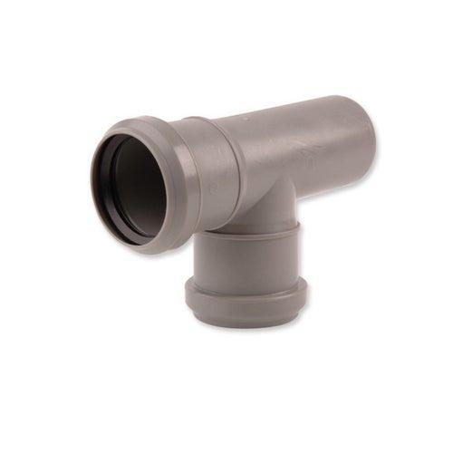 Trójnik redukcyjny kanalizacyjny 90° 75 mm z uszczelką