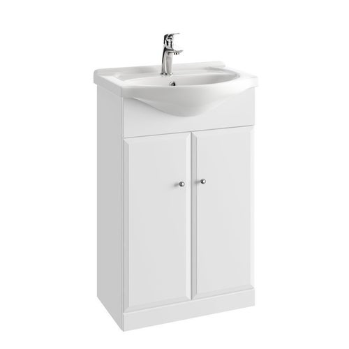 Zestaw szafka z umywalką Onas Armando 55 cm 001-D-05501+1