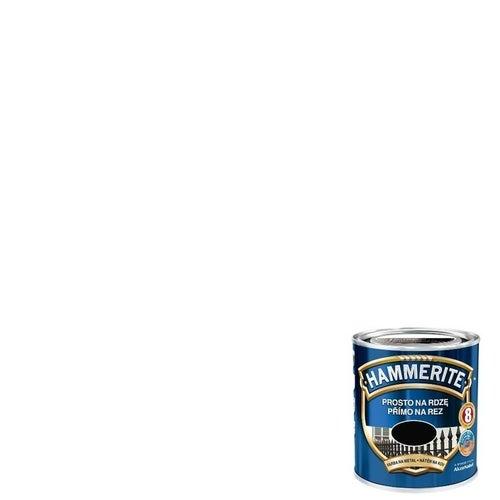 Farba antykorozyja Hammerite biały połysk 0,25l