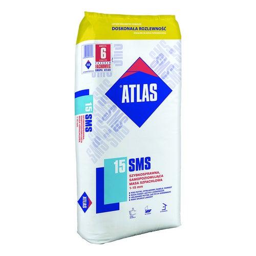 Podkład podłogowy Atlas SMS 15, CT-C25-F7 25 kg, samopoziomujący, szybki, 1-15 mm