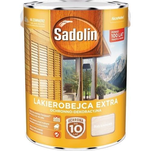 Lakierobejca Sadolin Extra biały kremowy 5l