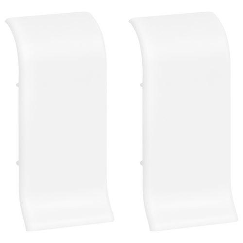 Łącznik do listew przypodłogowych 401 32x56x25mm Biały op. 2szt