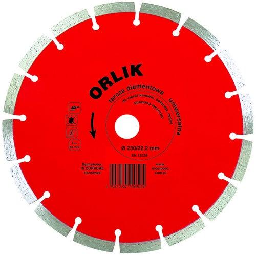 Tarcza diamentowa segmentowa 230x22,2 mm ORLIK
