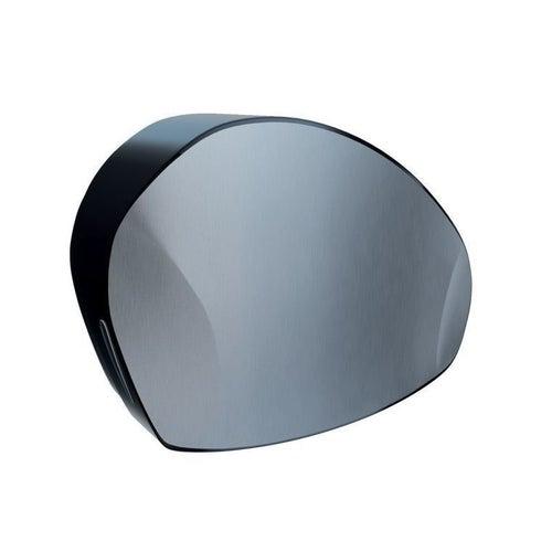 Pojemnik na papier toaletowy Merida Mercury, max. śr. 20 cm, uchwyt na resztkę rolki, czarny, BMC201