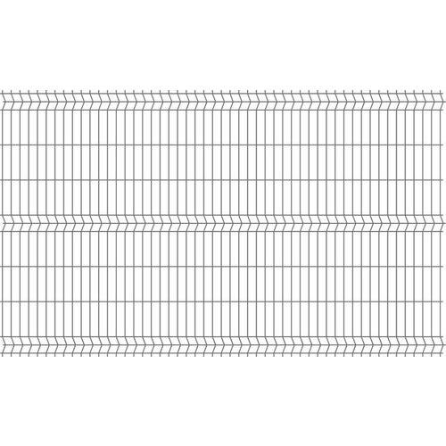 Panel ogrodzeniowy 3D antracyt, 152x250 cm, oczko 50x200 mm, drut 4 mm