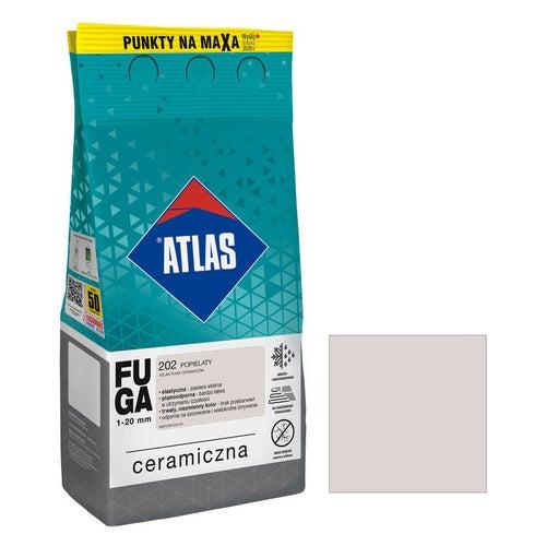 Fuga ceramiczna Atlas 202 popielaty 5kg
