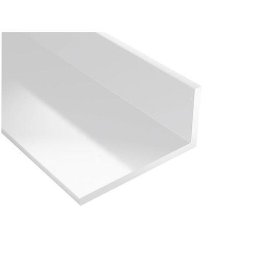 Kątownik PCV biały 1000x25x20x2 mm