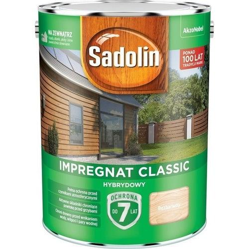 Impregnat hybrydowy Sadolin Classic bezbarwny 4,5l