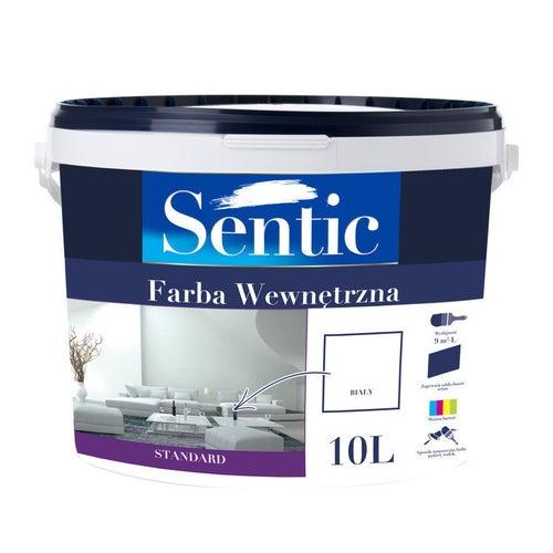 Farba Biała Sentic biała 10l