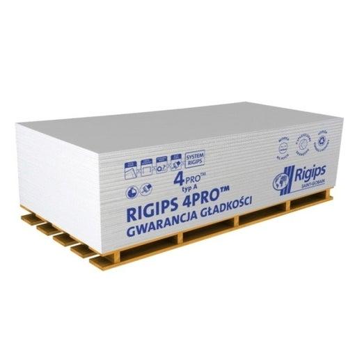 Płyta gipsowo-kartonowa standardowa Rigips 4PRO 1200x2000x12,5 mm GKB typ A