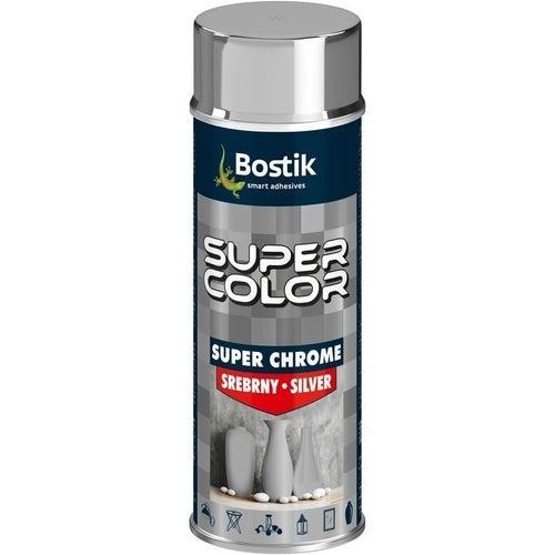 Spray Den Braven Super Color Chrome srebrny 400ml