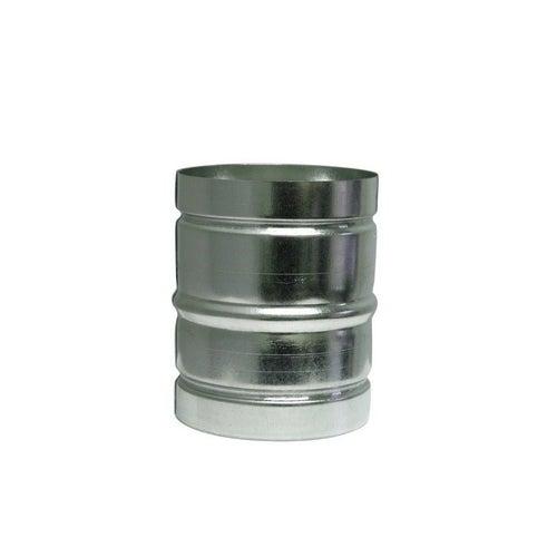 Nypel do rury wentylacyjnej aluminiowej fi 80 mm