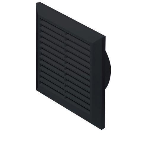 Kratka wentylacyjna Classic fi 125 T83CZ czarna