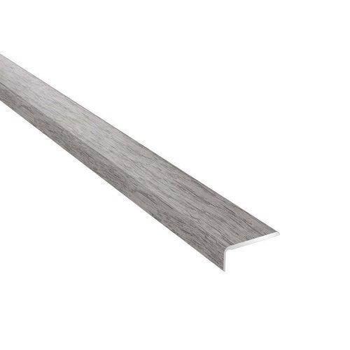 Profil podłogowy CS25 zakończeniowy 1200x25x10 aluminiowy dąb girona