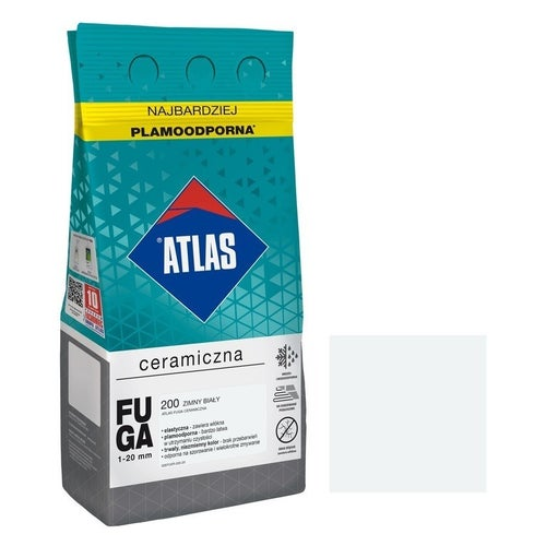 Fuga ceramiczna Atlas 200 zimny biały 5kg