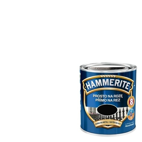Farba antykorozyja Hammerite biały połysk 2,5l