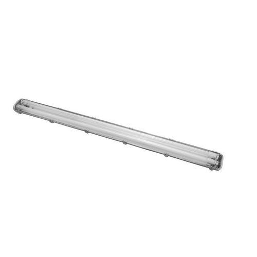 Oprawa hermetyczna do świetlówek LED 2xT8 G13 + świetlówki LED 2x18W 1800lm 4000K IP65