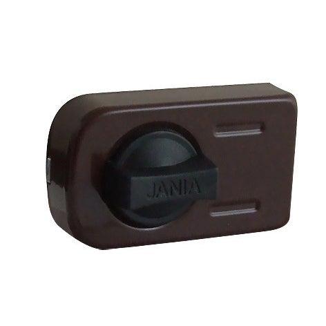 Zamek wierzchni JANIA 50-60mm z wkładką RIM XL brązowy
