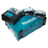Zestaw akumulatorów 18V: 2 x 3,0Ah + ładowarka DC18RC w walizce MAKPAC Makita
