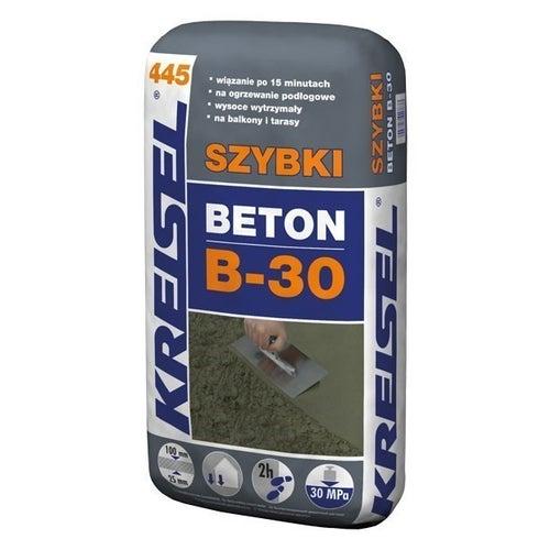 Zaprawa cementowa Beton B-30 Kreisel 445 25 kg, szybkowiążąca