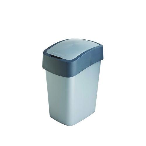 Kosz na śmieci FlIP BIN 25 l srebrny/grafitowy
