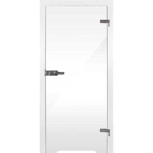 Skrzydło łazienkowe Plato 80 prawe transparentny