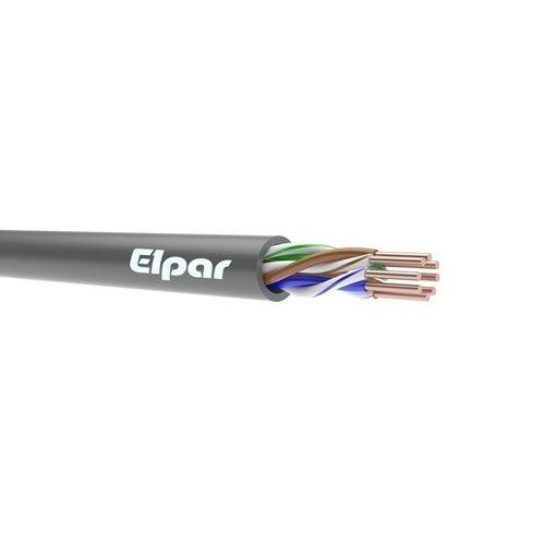 Kabel komputerowy FTP kat. 5e 4x2x0,5 drut 1m