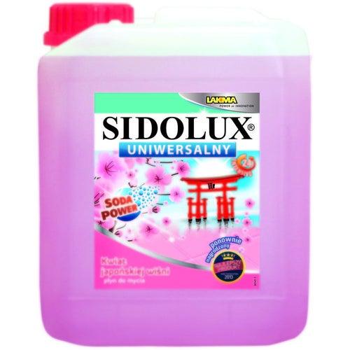 Sidolux Płyn uniwersalny do mycia kwiat japońskiej wiśni 5L