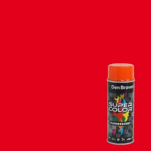 Spray Den Braven Super Color czerwony 400ml