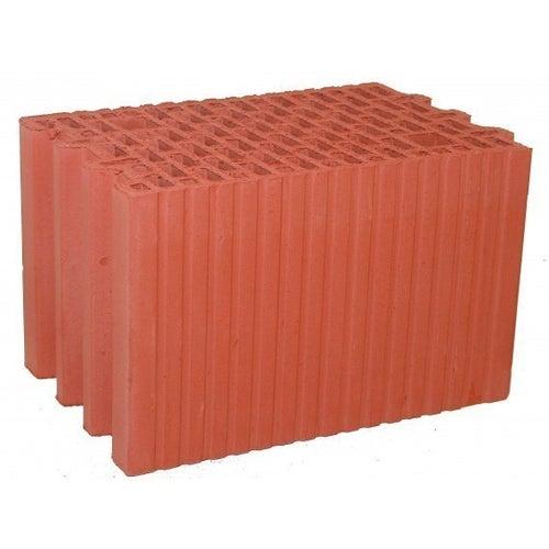 Pustak ceramiczny Porotherm 25 P+W 250x373x238 mm kl. 15 10,7 szt./m2