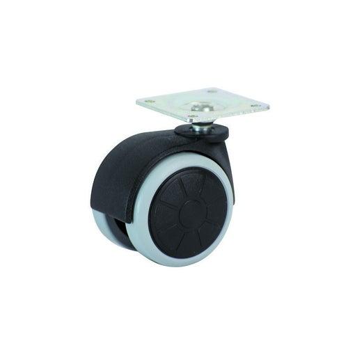 Koło meblowe z płytą 50 mm/50 kg