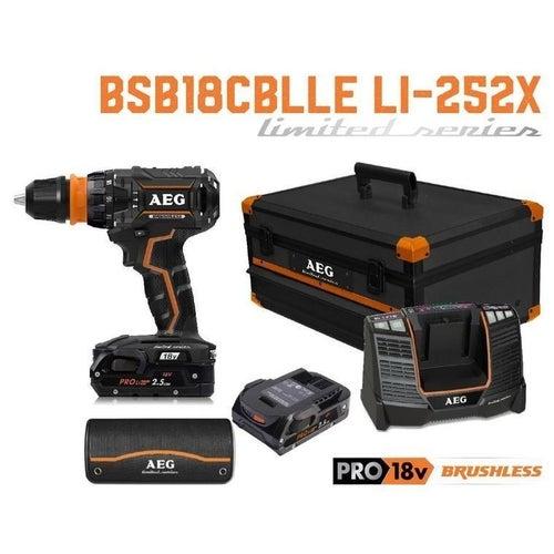 Wiertarko-wkrętarka 18V BSB18CBLLE Li-252X AEG / 2 x 2,5Ah