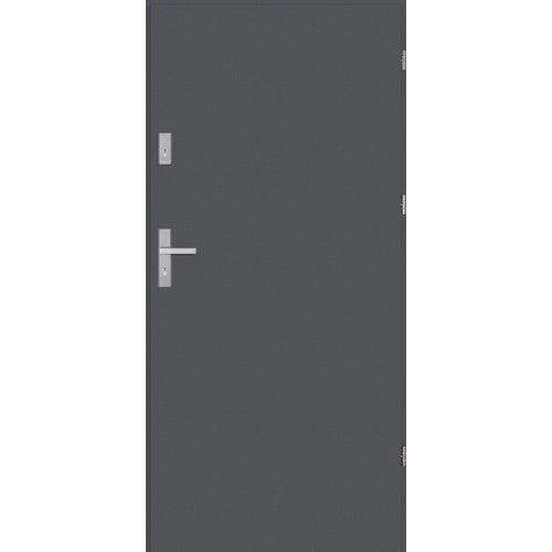 Drzwi wejściowe antywłamaniowe Imperia RC2 80 cm, prawe, antracyt