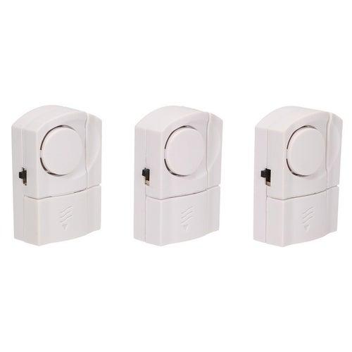 Mini alarm 3x czujnik otwarcia z syreną