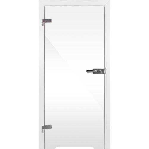 Skrzydło łazienkowe Plato 80 lewe transparentny