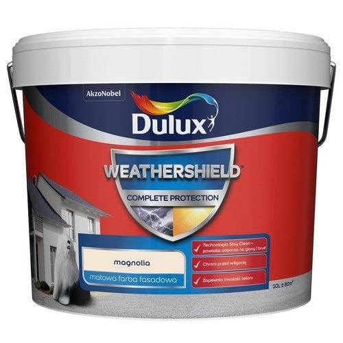 Farba fasadowa Dulux Weathershield Complete magnolia 10l