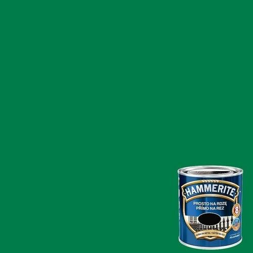 Farba antykorozyja Hammerite zielony połysk 0,25l