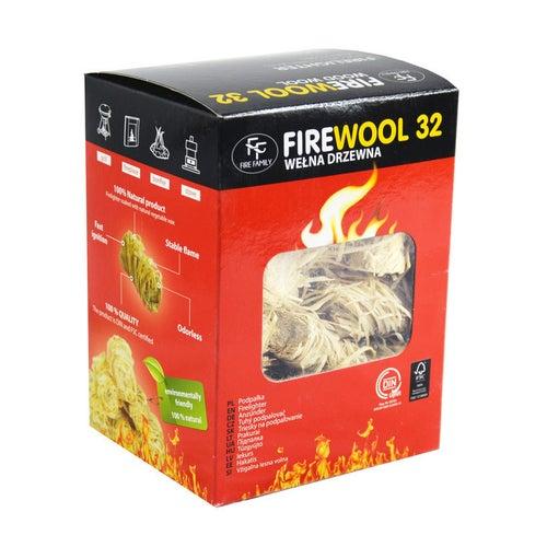 Podpałka wełna drzewna FF Firewool 32 szt