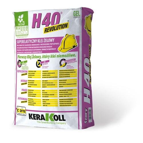 Zaprawa klejowa H40 Revolution 20kg
