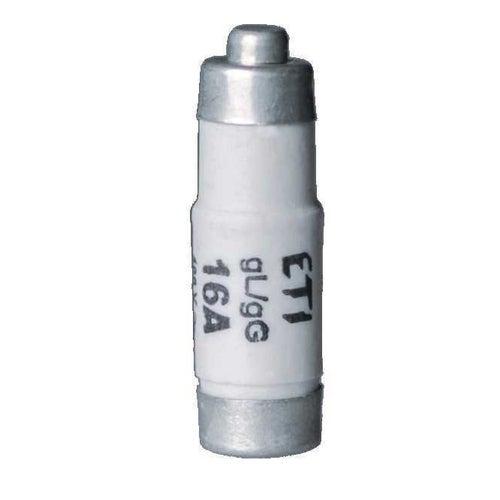 Wkładka topikowa D01 gG 16A zwłoczna E14 ETI