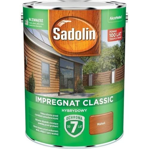 Impregnat hybrydowy Sadolin Classic mahoń 4,5l