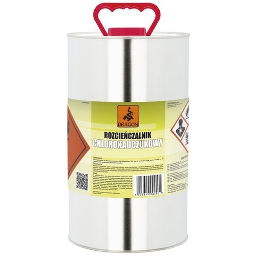 Rozcieńczalnik chlorkauczukowo-poliwinylowy Dragon 5l