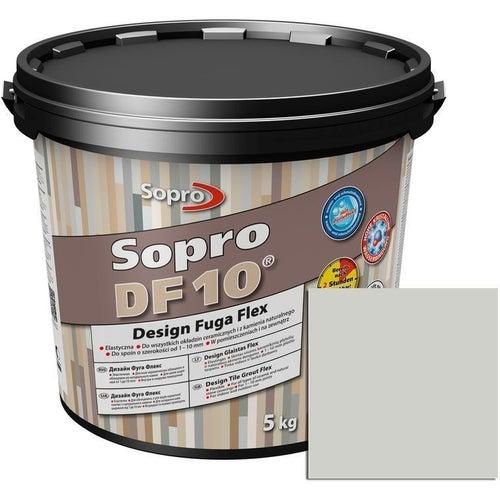 Fuga DF10 Design Flex srebrno- szary 5 kg