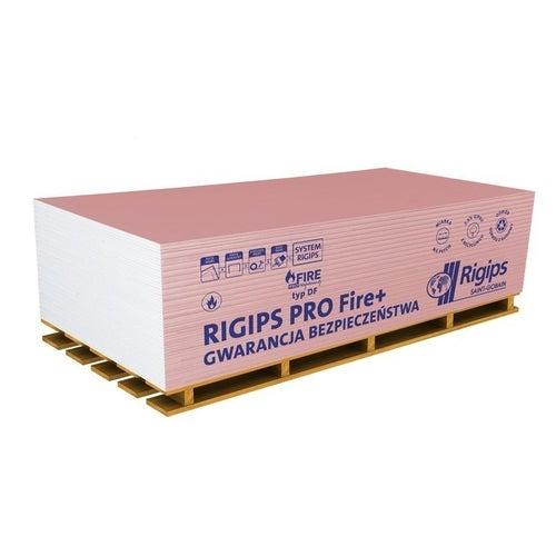 Płyta gipsowo-kartonowa ogniotrwała Rigips PRO Fire+ 1200x2600x12,5 mm GKF typ DF
