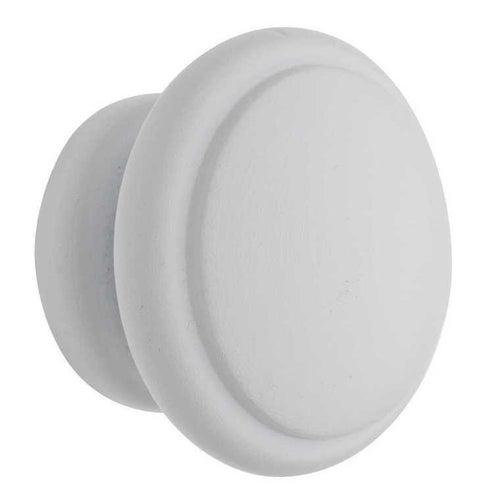 Gałka meblowa fi 44 mm buk mm biały buk